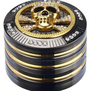 CHAMP HIGH GRINDER BLING SKULL 50 MM